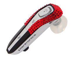 plantronics 665 swarovski easy red